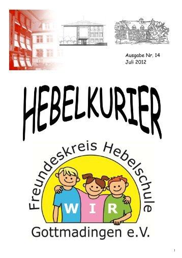 Chor Kl.3-4 - Hebelschule Grundschule Gottmadingen