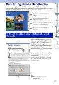 Sony DSC-TX5 - DSC-TX5 Istruzioni per l'uso Tedesco - Page 2