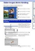 Sony DSC-TX5 - DSC-TX5 Istruzioni per l'uso Danese - Page 2