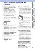 Sony DSC-S2100 - DSC-S2100 Istruzioni per l'uso Portoghese - Page 3