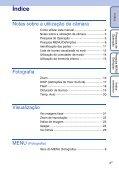 Sony DSC-S2100 - DSC-S2100 Istruzioni per l'uso Portoghese - Page 4