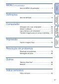 Sony DSC-S2100 - DSC-S2100 Istruzioni per l'uso Portoghese - Page 5