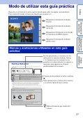 Sony DSC-T99D - DSC-T99D Istruzioni per l'uso Spagnolo - Page 2