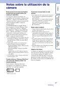 Sony DSC-T99D - DSC-T99D Istruzioni per l'uso Spagnolo - Page 3