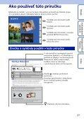 Sony DSC-T99D - DSC-T99D Istruzioni per l'uso Slovacco - Page 2