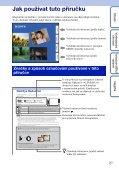 Sony DSC-T99D - DSC-T99D Istruzioni per l'uso Ceco - Page 2