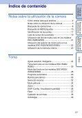 Sony DSC-W380 - DSC-W380 Istruzioni per l'uso Spagnolo - Page 5