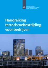 Handreiking terrorismebestrijding voor bedrijven