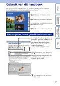 Sony DSC-TX5 - DSC-TX5 Istruzioni per l'uso Olandese - Page 2