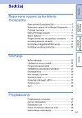 Sony DSC-TX5 - DSC-TX5 Istruzioni per l'uso Croato - Page 5