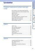 Sony DSC-T99D - DSC-T99D Istruzioni per l'uso Turco - Page 5