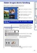 Sony DSC-T99D - DSC-T99D Istruzioni per l'uso Danese - Page 2
