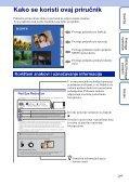 Sony DSC-T99D - DSC-T99D Istruzioni per l'uso Croato - Page 2