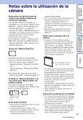 Sony DSC-W380 - DSC-W380 Guida all'uso Spagnolo - Page 3