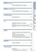 Sony DSC-T99D - DSC-T99D Istruzioni per l'uso Svedese - Page 6