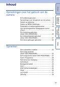 Sony DSC-W350 - DSC-W350 Guida all'uso Olandese - Page 5