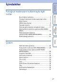 Sony DSC-W350 - DSC-W350 Istruzioni per l'uso Turco - Page 4