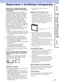 Sony DSC-W350 - DSC-W350 Guida all'uso Croato - Page 3