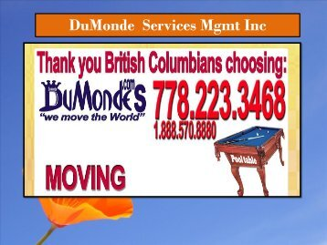 Residential Mover Vancouver