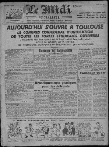 aujourd'hui s'ouvre a toulouse - Bibliothèque de Toulouse - Mairie ...