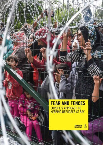 FEAR AND FENCES