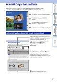 Sony DSC-T99D - DSC-T99D Istruzioni per l'uso Ungherese - Page 2