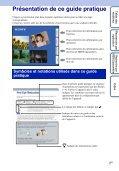 Sony DSC-W350 - DSC-W350 Guida all'uso Francese - Page 2