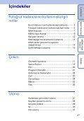 Sony DSC-W180 - DSC-W180 Istruzioni per l'uso Turco - Page 4