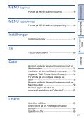 Sony DSC-W180 - DSC-W180 Istruzioni per l'uso Svedese - Page 5
