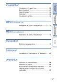 Sony DSC-H55 - DSC-H55 Istruzioni per l'uso Francese - Page 6