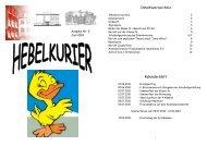 9. Hebelkurier Juni 2010 - Hebelschule Grundschule Gottmadingen