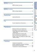 Sony DSC-W180 - DSC-W180 Istruzioni per l'uso Finlandese - Page 5