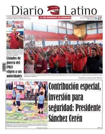 Edición 21 de Noviembre de 2015