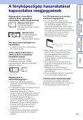 Sony DSC-W180 - DSC-W180 Istruzioni per l'uso Ungherese - Page 3