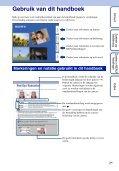 Sony DSC-W180 - DSC-W180 Istruzioni per l'uso Olandese - Page 2
