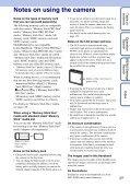 Sony DSC-W360 - DSC-W360 Guida all'uso Inglese - Page 3