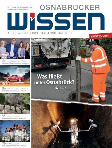 Nr. 11 (III-2015) - Osnabrücker Wissen