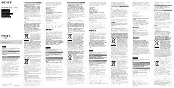 Sony MHS-FS3 - MHS-FS3 Istruzioni per l'uso Portoghese