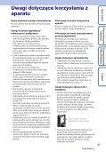 Sony MHS-FS3 - MHS-FS3 Istruzioni per l'uso Polacco - Page 3
