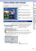 Sony DSC-H55 - DSC-H55 Istruzioni per l'uso Portoghese - Page 2