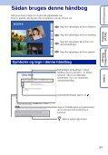 Sony MHS-FS1 - MHS-FS1 Istruzioni per l'uso Danese - Page 2