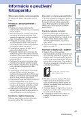 Sony MHS-FS1 - MHS-FS1 Istruzioni per l'uso Slovacco - Page 3