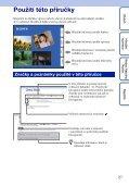 Sony MHS-FS3K - MHS-FS3K Istruzioni per l'uso Ceco - Page 2