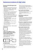 Sony MHS-PM5 - MHS-PM5 Istruzioni per l'uso Turco - Page 2