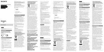 Sony MHS-FS3K - MHS-FS3K Istruzioni per l'uso Turco