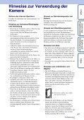 Sony MHS-TS20K - MHS-TS20K Istruzioni per l'uso Tedesco - Page 3
