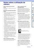 Sony MHS-FS3K - MHS-FS3K Istruzioni per l'uso Portoghese - Page 3