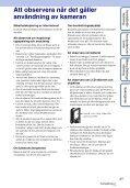 Sony MHS-FS3 - MHS-FS3 Istruzioni per l'uso Svedese - Page 3