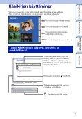 Sony MHS-FS1 - MHS-FS1 Istruzioni per l'uso Finlandese - Page 2