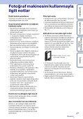 Sony MHS-FS1 - MHS-FS1 Istruzioni per l'uso Turco - Page 3